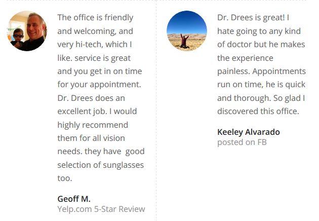 Patient Testimonials | Westlake Hills Vision | Austin