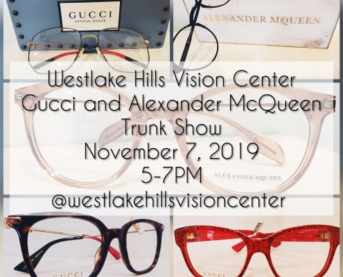 gucci and alexander mcqueen trunk show